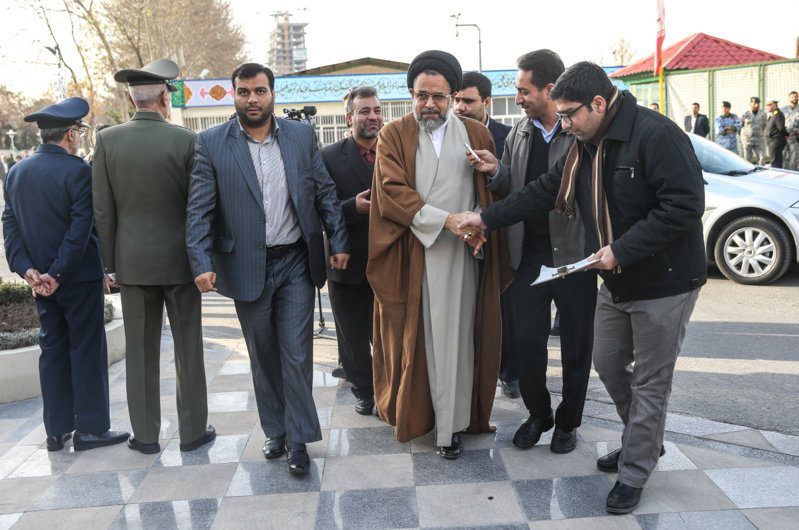 تشییع پیکر سرلشکر سلیمی - فرمانده پیشین ارتش