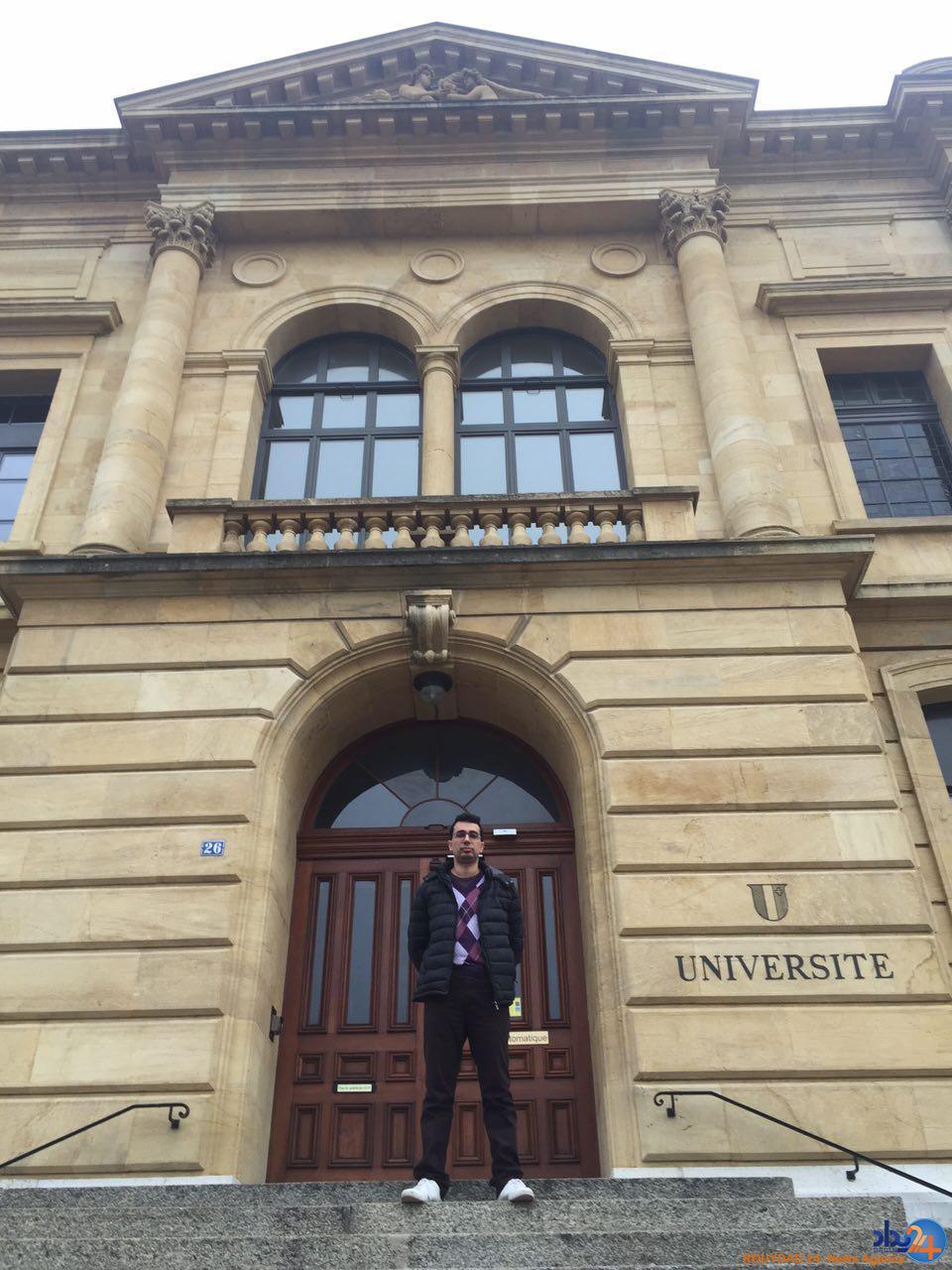 دانشگاه محل تحصیل دکتر مصدق (تصاویر)