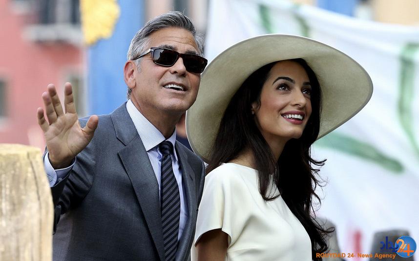تصاویر خانه 14 میلیونی جورج کلونی و همسرش