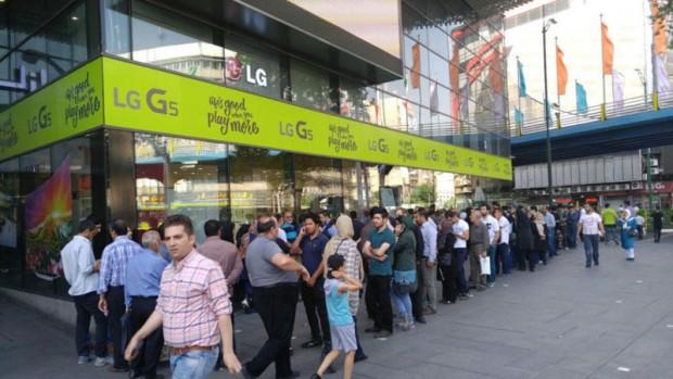 گزارش از صف خریداران LG G5