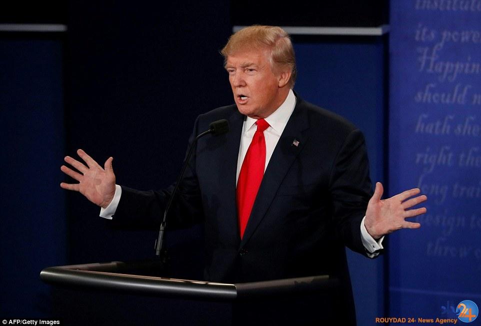 آخرین رویارویی ترامپ و کلینتون
