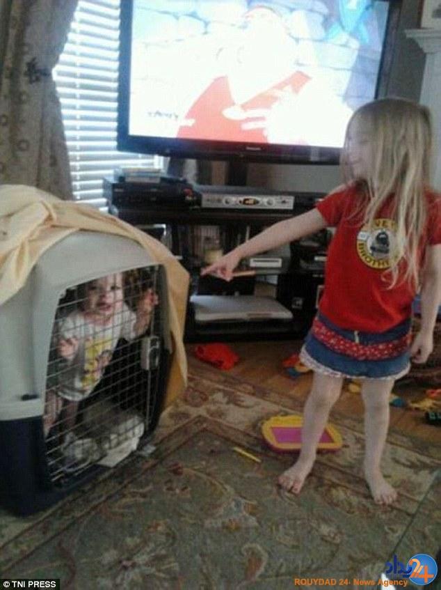 وقتی کودکان را در خانه تنها میگذارید (تصاویر)