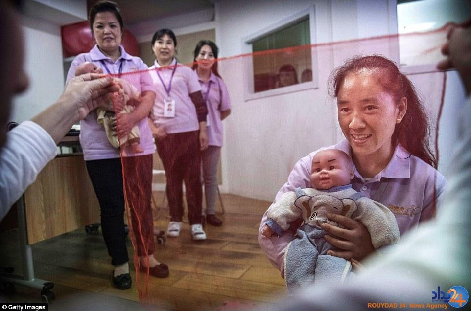 در دانشگاه بچهداری چین چه خبر است؟ (تصاویر)