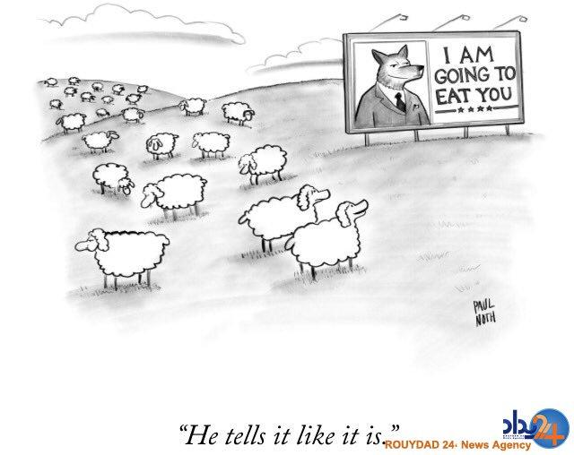 واکنش کارتونیستهای جهان به پیروزی ترامپ (تصاویر)
