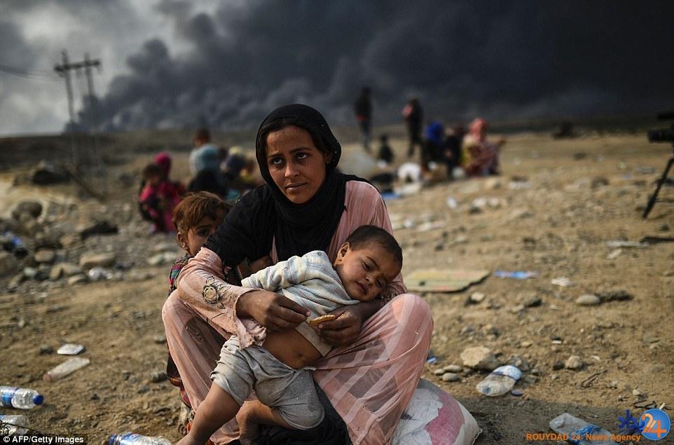 آتش داعش در چهره کودکان عراقی (تصاویر)