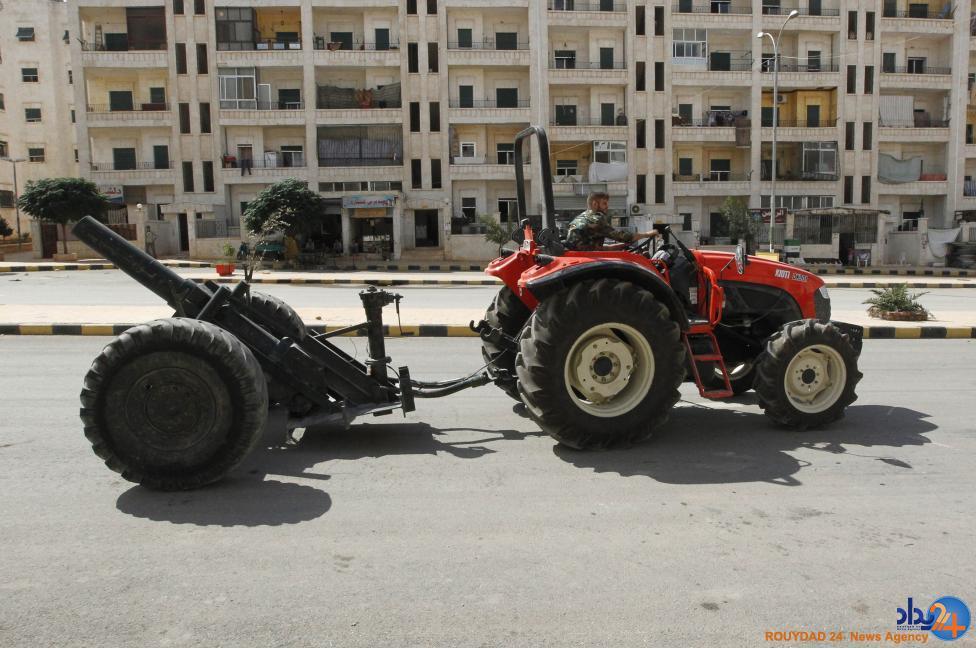 تسلیحات خودساخته مخالفان سوریه (تصاویر)