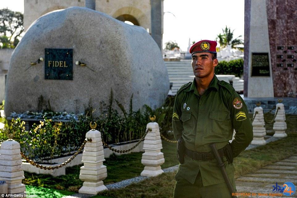آرامگاه ابدی فیدل کاسترو (تصاویر)
