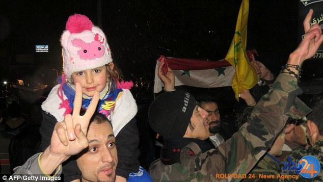 شادی مردم حلب پس از آزادی (تصاویر)