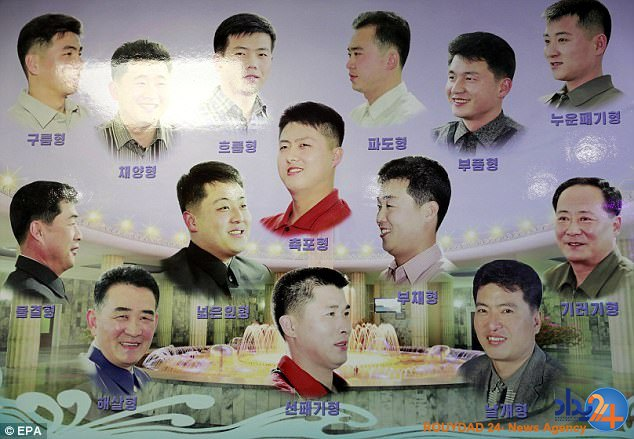15 مدل موی مصوب برای مردان و زنان کره شمالی (تصاویر)