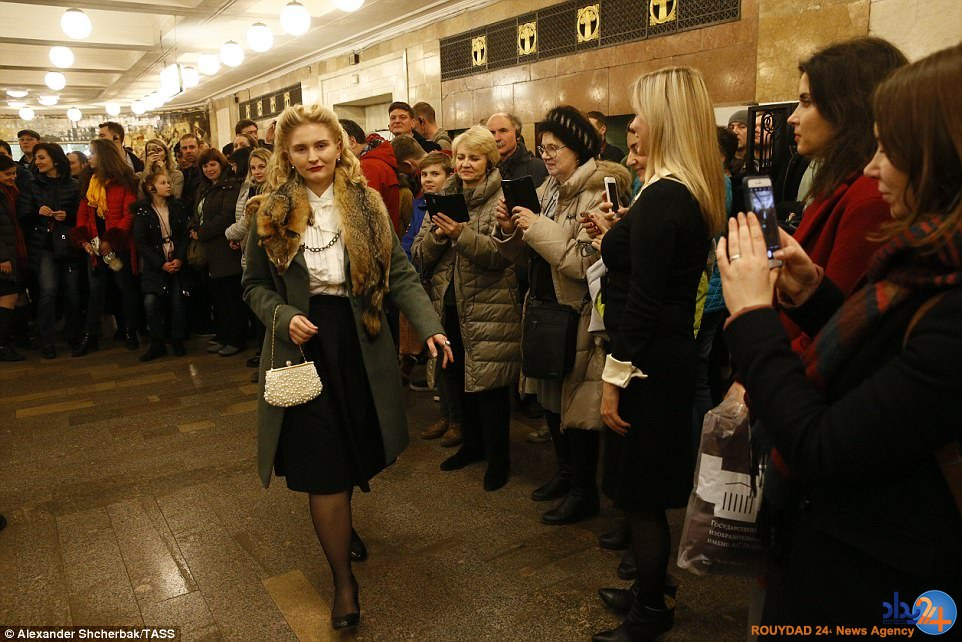 مسافران مترو مردم را به شوروی ماقبل جنگ جهانی دوم بردند (تصاویر)