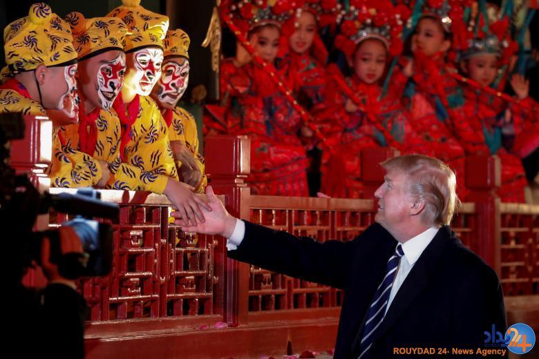 تور آسیایی ترامپ (تصاویر)