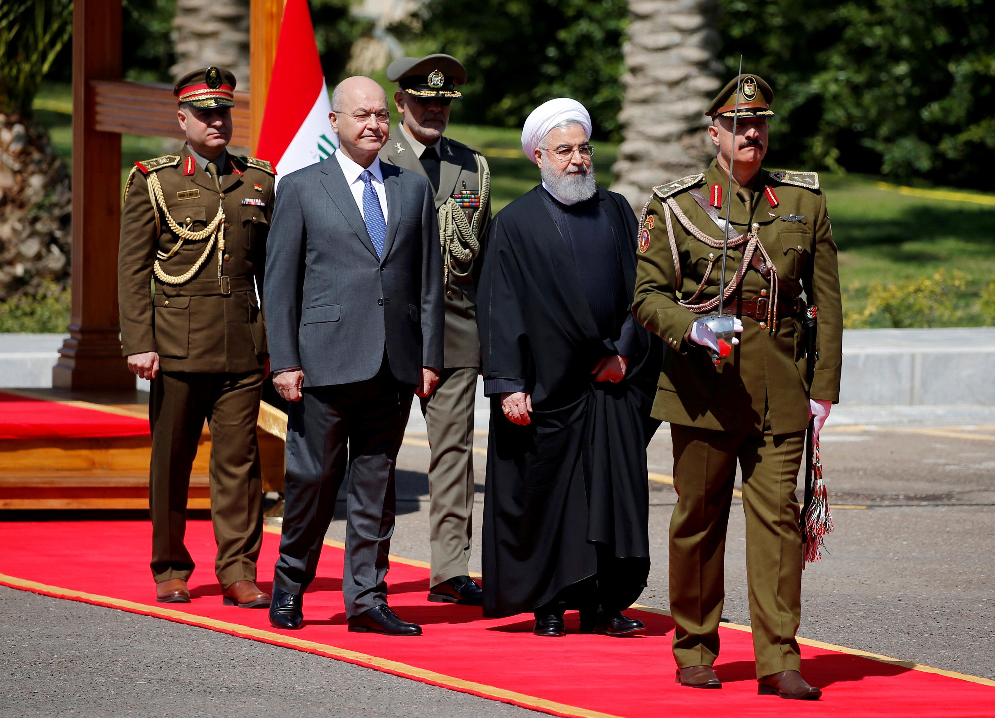 ترس رسانهها و  مقامات غربی از سفر رییس جمهور به بغداد/ «روحانی برنده است»