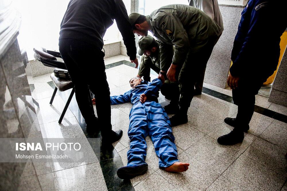غشکردن مفسد اقتصادی در دادگاه +عکس