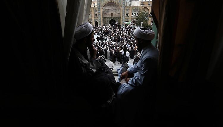 تجمع معیشیتی روحانیون در مشهد علیه دولت روحانی