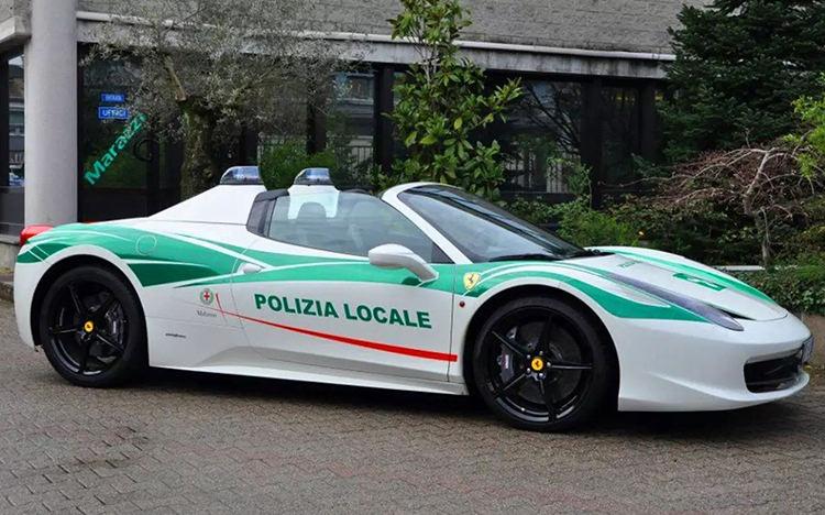 جذاب ترین خودروهای پلیس جهان در سال ۲۰۱۸