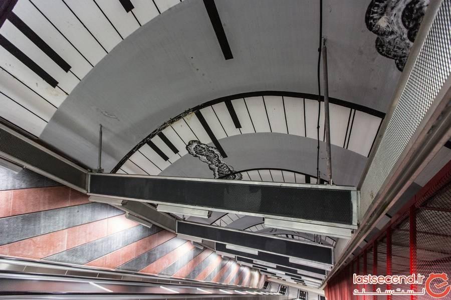 ایستگاههای مترو در استکهلم +عکس