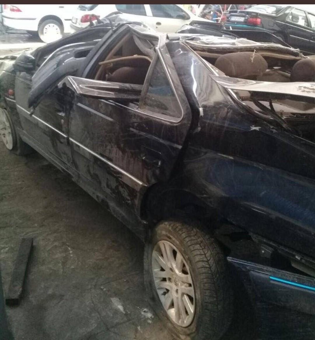 تصادف مرگبار برادر عضو شورای شهر با خودروی سازمانی! + عکس