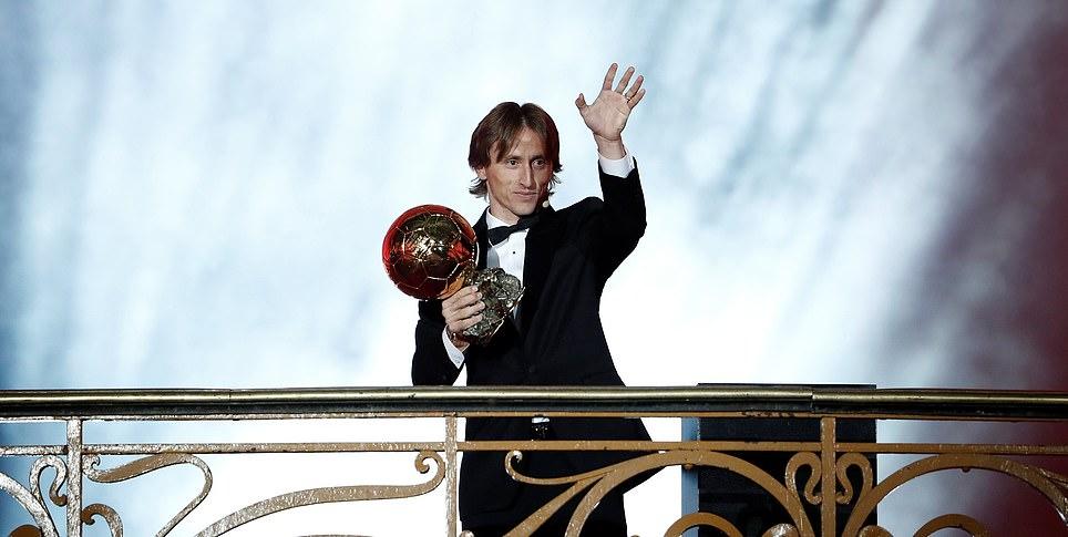 لوکا مودریچ، برنده توپ طلای سال ۲۰۱۸/ آدا هگربرگ بهترین بازیکن زن جهان