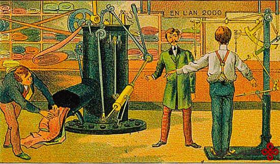 مردم صد سال پیش چه فکر درباره آینده میکردند؟ +تصاویر