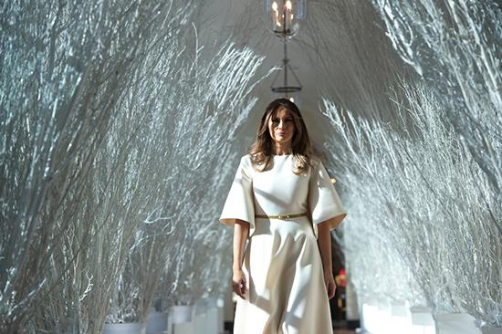سلیقه عجیب ملانیا در کاخ سفید سوژه شد+عکس