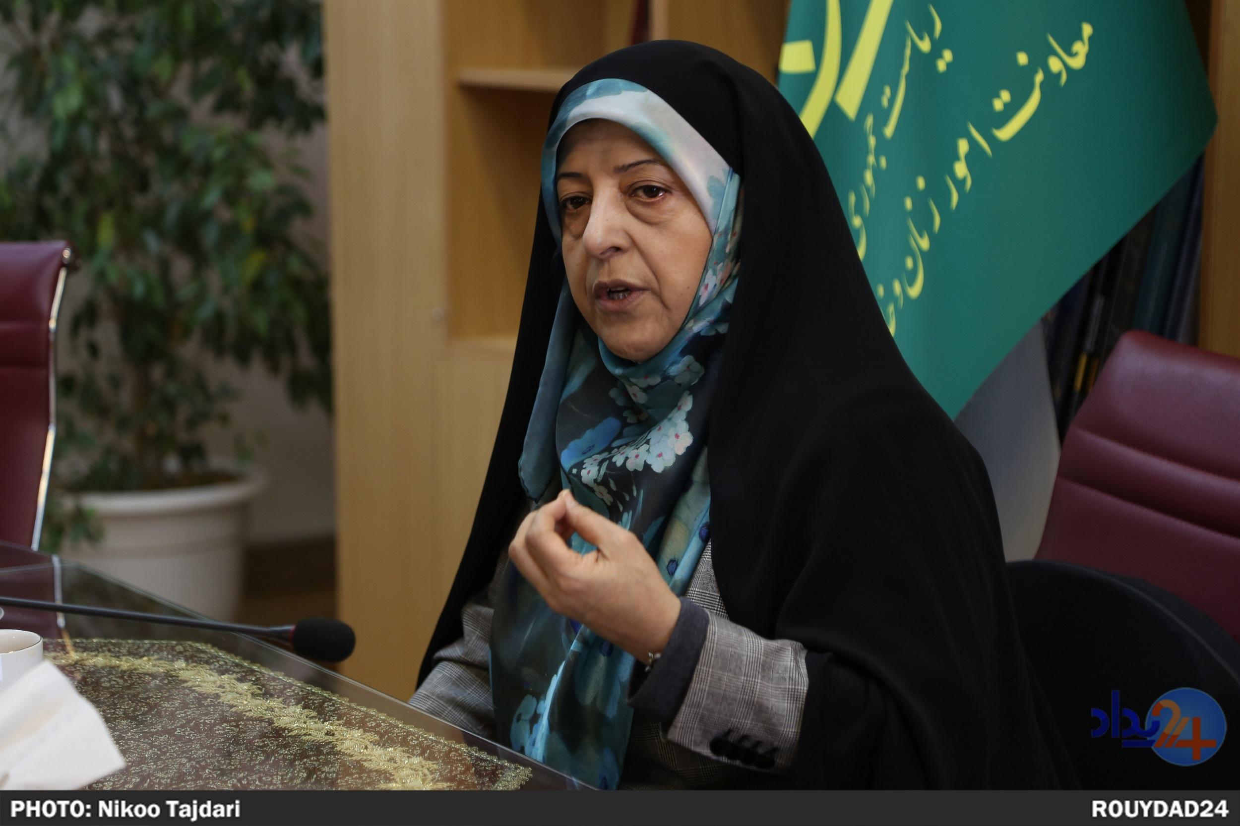 حوزه اصلی من زنان است، مرا از زنان به محیط زیست آوردند/ احمدی نژاد از زنان به عنوان ویترین استفاده کرد