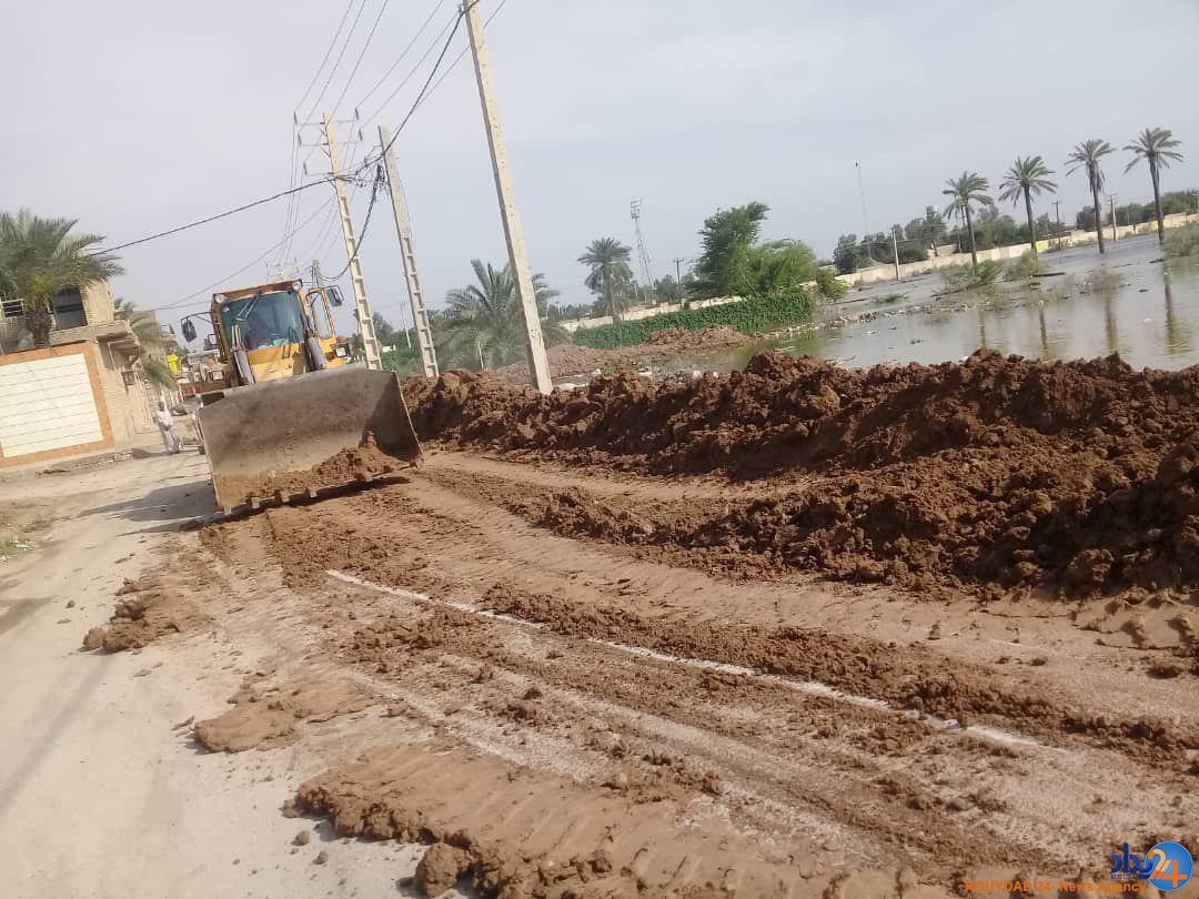 آخرین اخبار از سیل در ایران/ از تلاش برای باز کردن جادههای سوسنگرد تا ورود کمکهای عراق به ایران