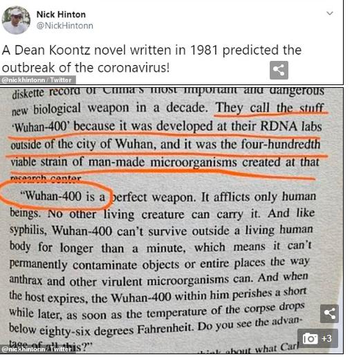 سکوت عجیب نویسنده اسرارآمیز/ داستان کتابی که چهل سال پیش ویروس کرونا را پیش بینی کرده بود چیست؟