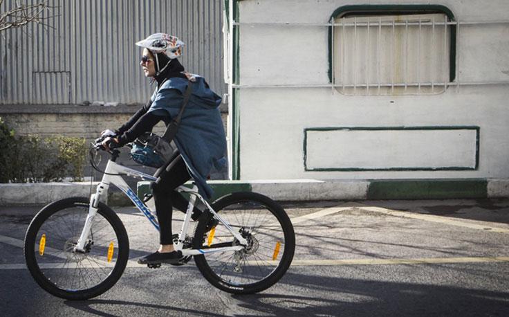 دوچرخه زنان توقیف و به پارکینگ منتقل خواهد شد!