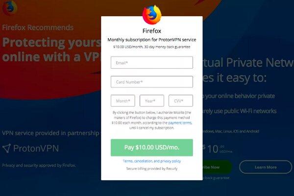 فایرفاکس پولی میشود