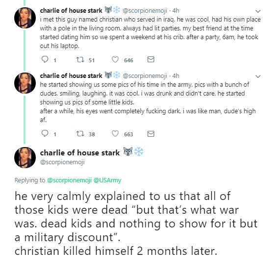 هجوم مخالفان جنگ به صفحه ارتش آمریکا/ پدران بیمار و الکلی و تجربه خودکشی، نتیجه هولناک حملات پنتاگون