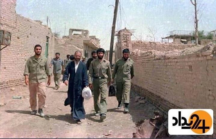 مهدی کروبی قبل از سقوط خرمشهر +عکس