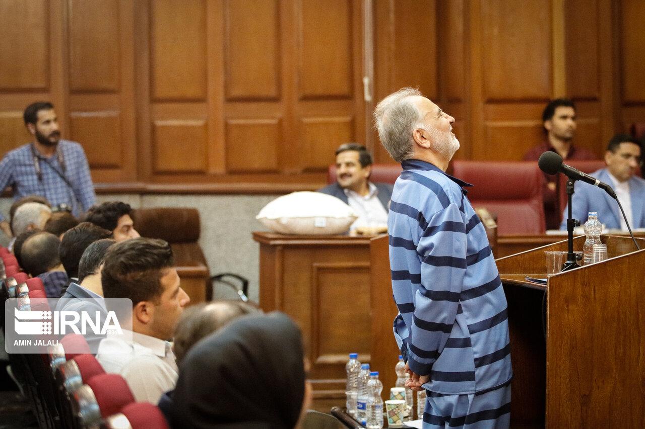 علت خنده محمدعلی نجفی در دادگاه چه بود؟