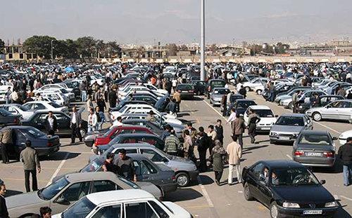 قیمتها در بازار خودرو کاهش یافت