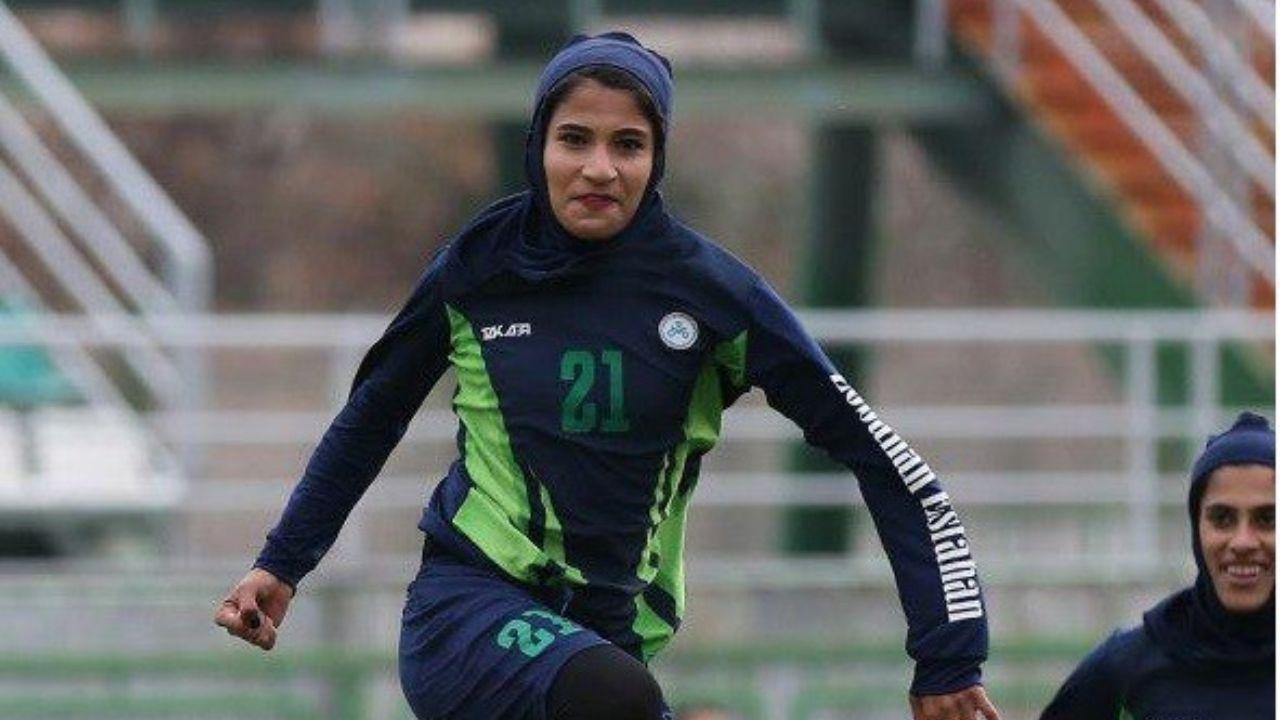 گلنوش خسروی دختر فوتبالیست ایرانی لژیونر شد