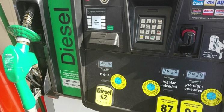 قیمت گازوئیل افزایش مییابد