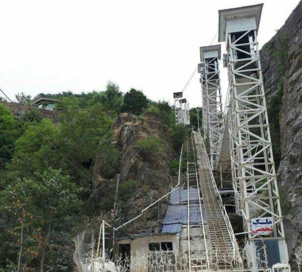 ساخت ویلای آسانسوردار در ارتفاعات کلاردشت