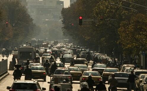 افزایش ذرات معلق در هوای تهران