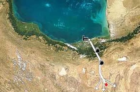 انتقال آب دریای خزر