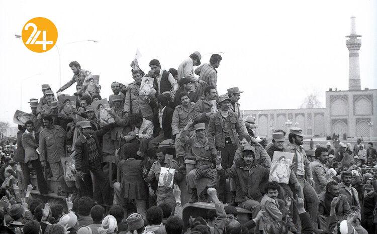 تصاویری از انقلاب ایران که برای نخستین بار منتشر شد