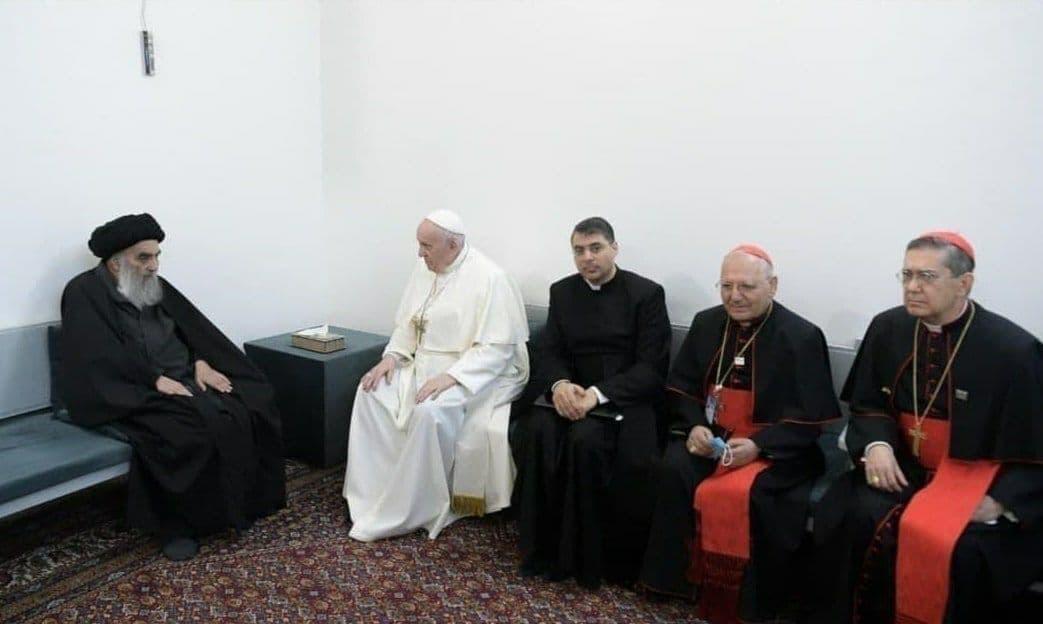 پاپ در نجف