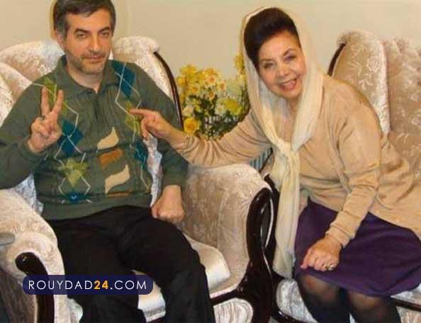 رحیم مشایی همسر دکتر فاطمی