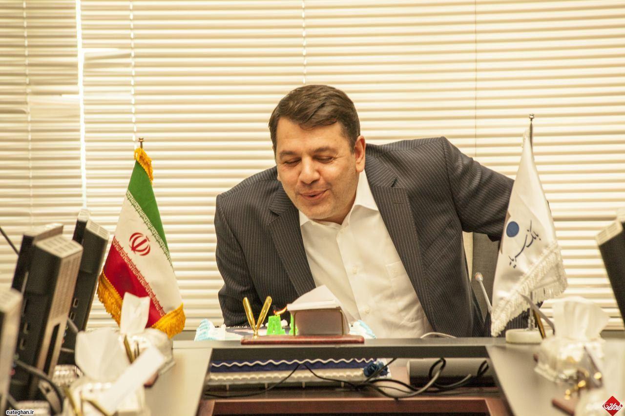 محمدرضا خانی مدیر عامل بانک سرمایه