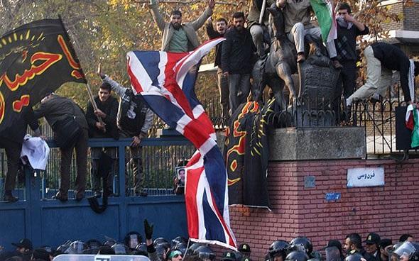 حمله به سفارت انگلستان