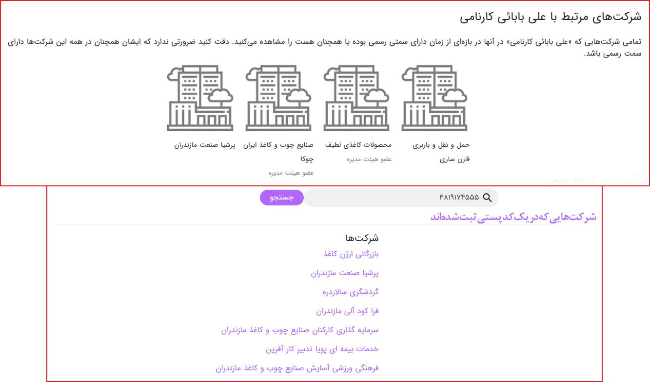علی بابایی کارنامی نماینده مجلس یازدهم