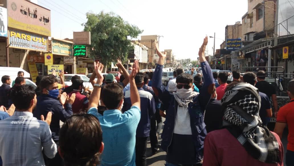 اعتراض کارگران هفت تپه