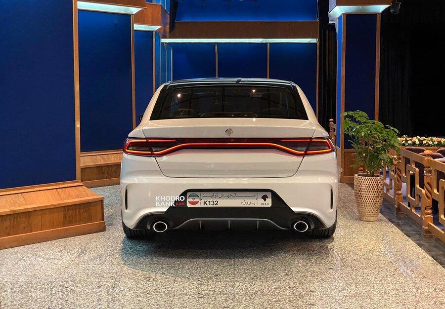 تصاویر تغییر چهره خودروی جدید ایرانخودرو