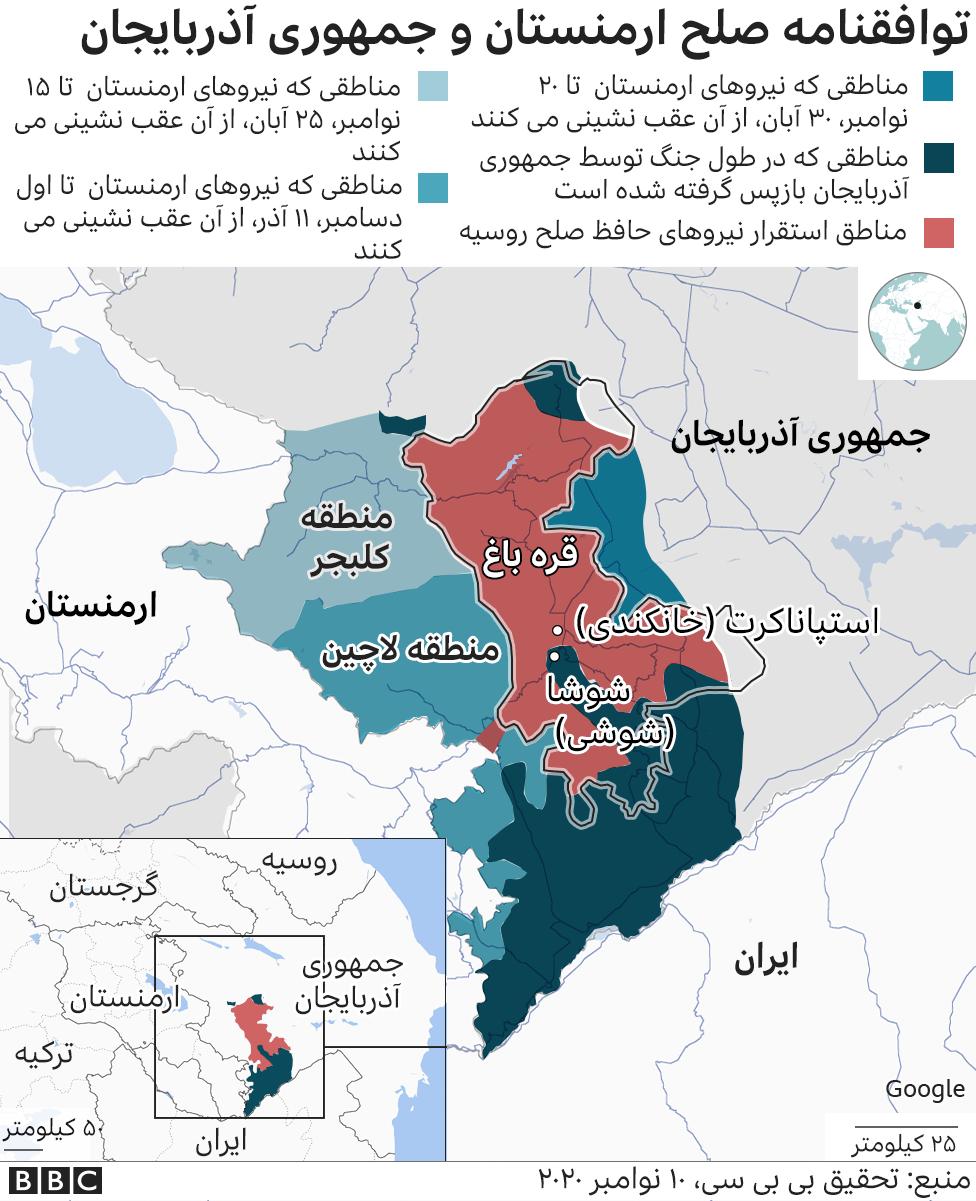 پایان درگیری ۳۰ روزه/ صلح ارمنستان و آذربایجان در بی خبری آمریکا چطور حاصل شد؟