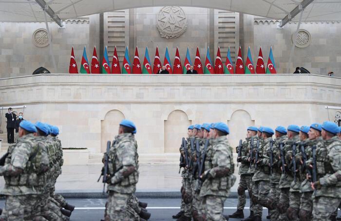 ماجرای شعرخوانی جنجالی اردوغان در آذربایجان