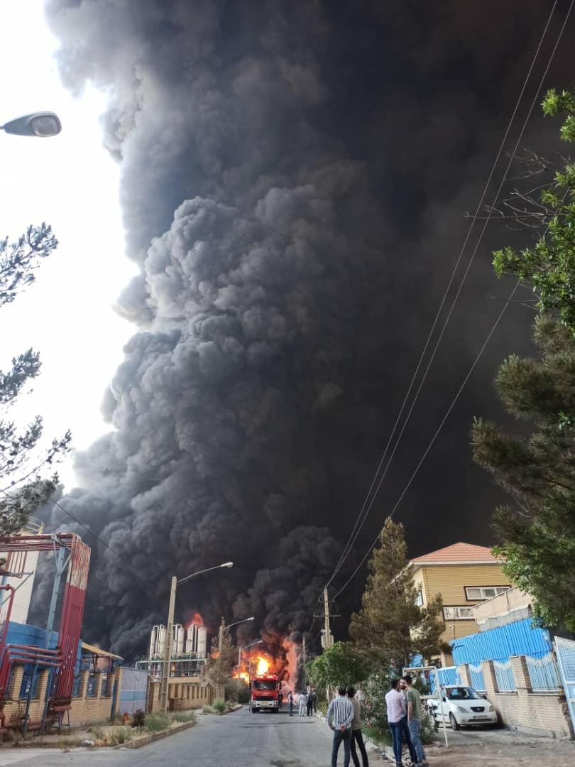 آخرین جزییات از آتش سوزی در قم