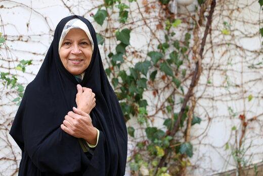 فائزه هاشمی: شورای نگهبان پاسخگوی علت ردصلاحیت پدرم باشد